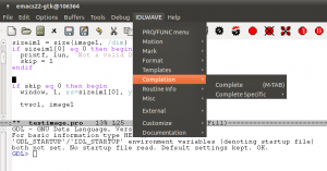 Emacs with IDLWAVE