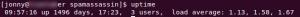 Linux Server Uptime