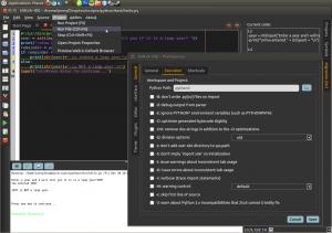 Ninja IDE Python Ubuntu