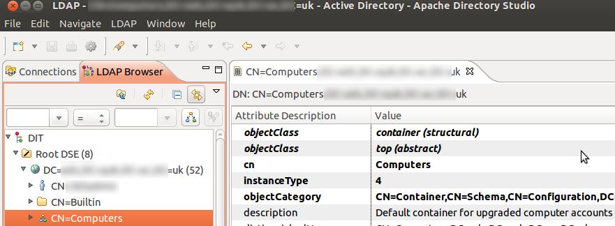 Apache Directory Studio (Softerra Alternative) » Red Branch