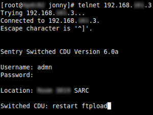 Sentry Switched CDU