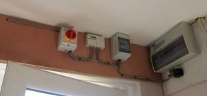 Inverter to consumer unit