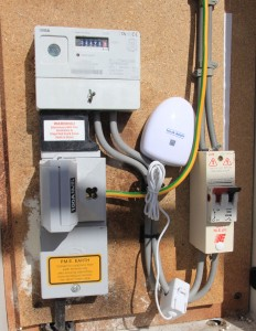 Main Electricty Meter