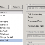 Increasing the disk size in VMWare