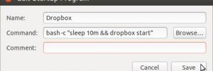 Edit Startup Program Dropbox