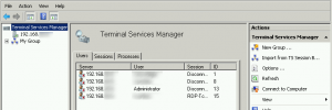 RDP Session Manager